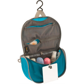 Sea to Summit Travelling Light Hanging Toiletry Small blue/grey